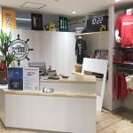 バスケットボール専門店/レジカウンター